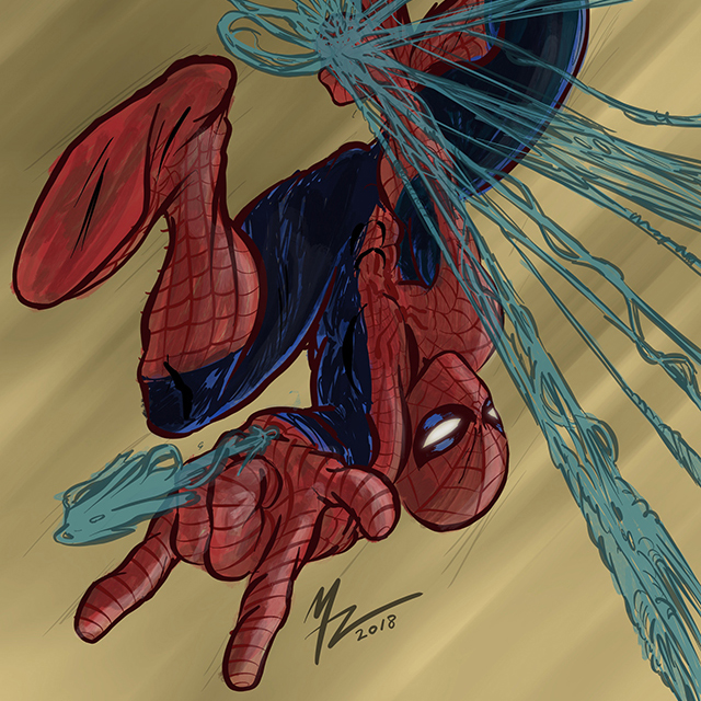 Mike_Zagari_Spider_Man_Illustration_2014